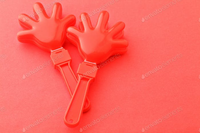 Cheering clap hand tool