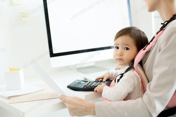 Büro-Baby