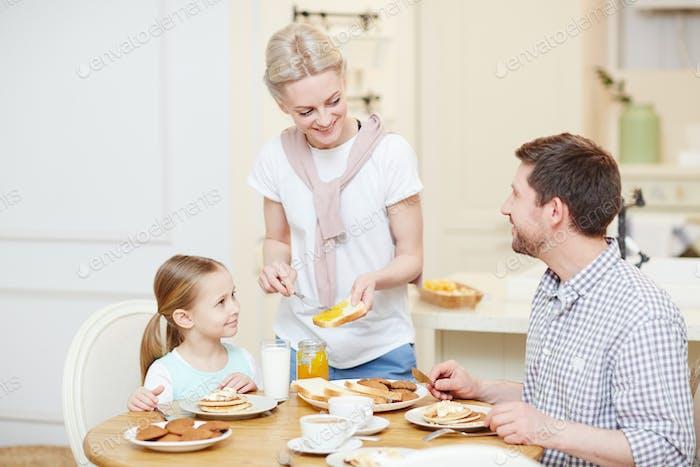 Breakfast for family