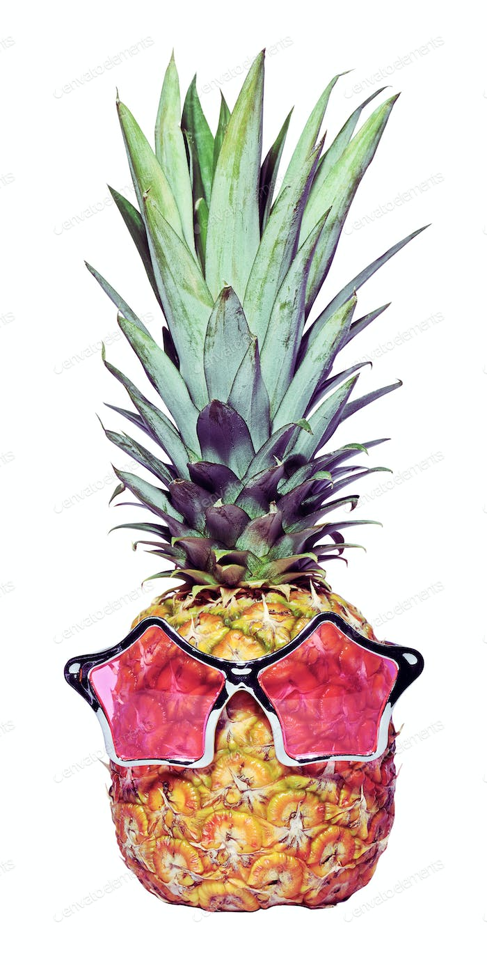 trendy funny pineapple