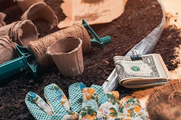 Making money in organic farming
