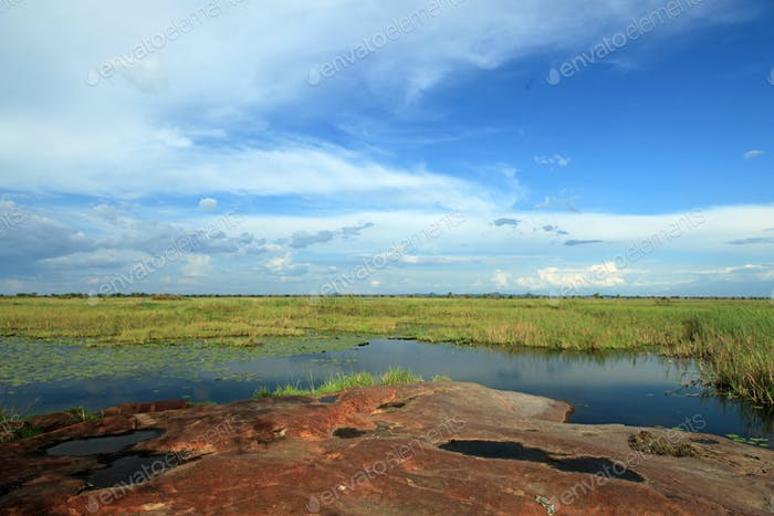 Lake Landscape - Lake Anapa - Uganda, Africa