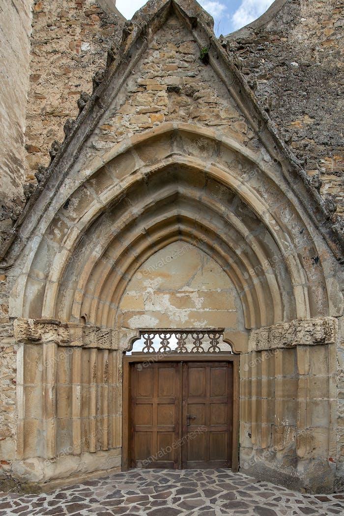 Gate of Cistercian monastery