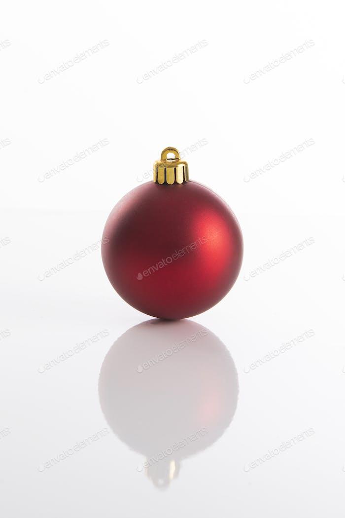 Red Christmas ball for Christmas tree decoration