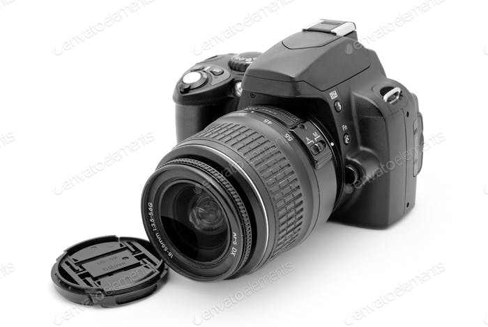 professionelle Fotokamera