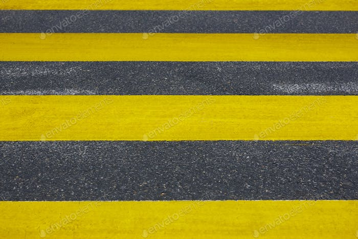 Pedestrian crossing. Asphalt street detail. Traffic signal. City background. Horizontal