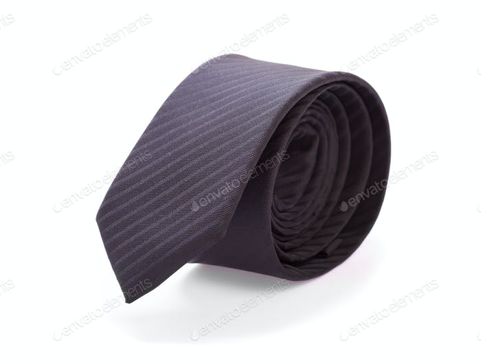 Black male tie