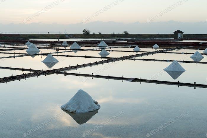 Taiwan Salt farm