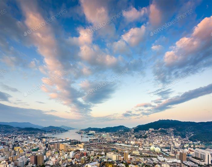 Nagasaki Japan Skyline
