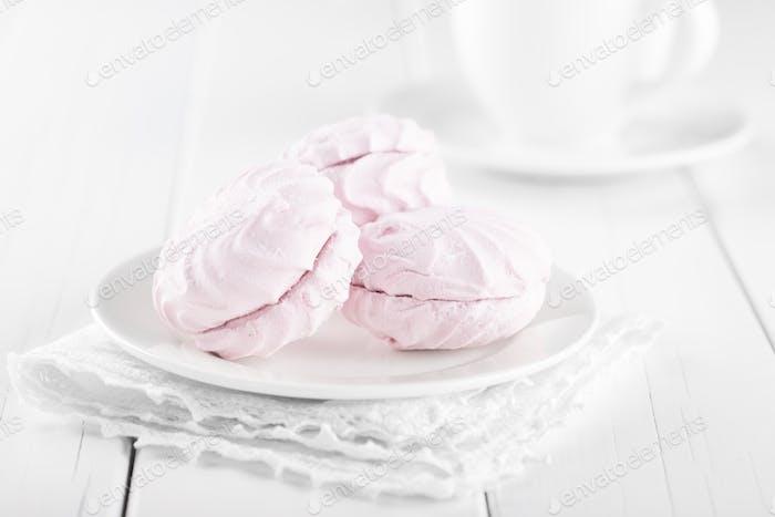 Pink marshmallows(Zephyr)