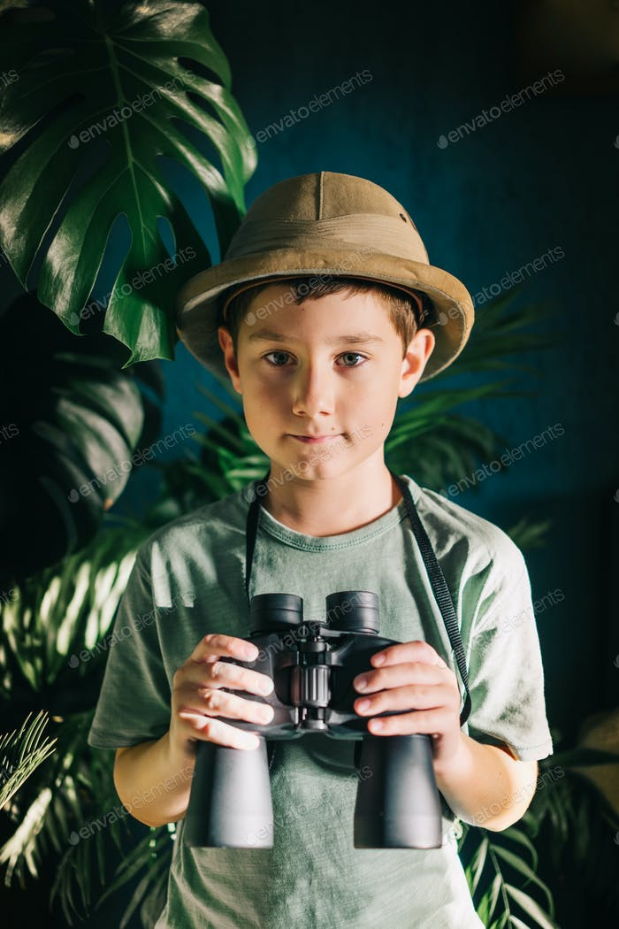 Safari Junge