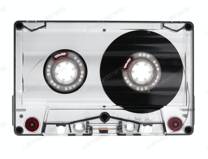 Audio Cassette Isolated