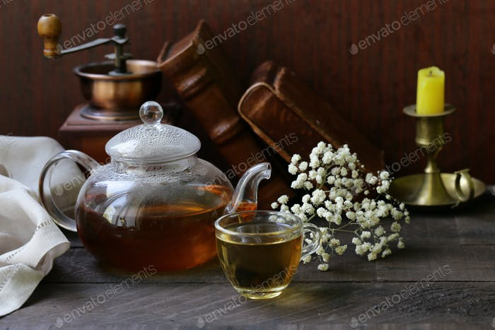 Kettle with Tea
