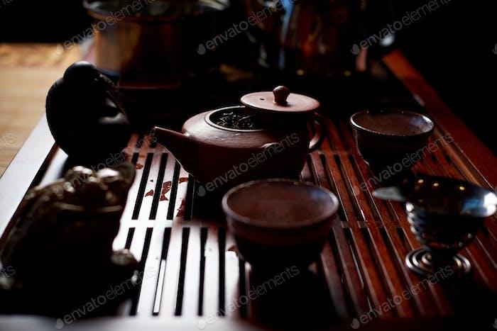 Atmospheric tea ceremony
