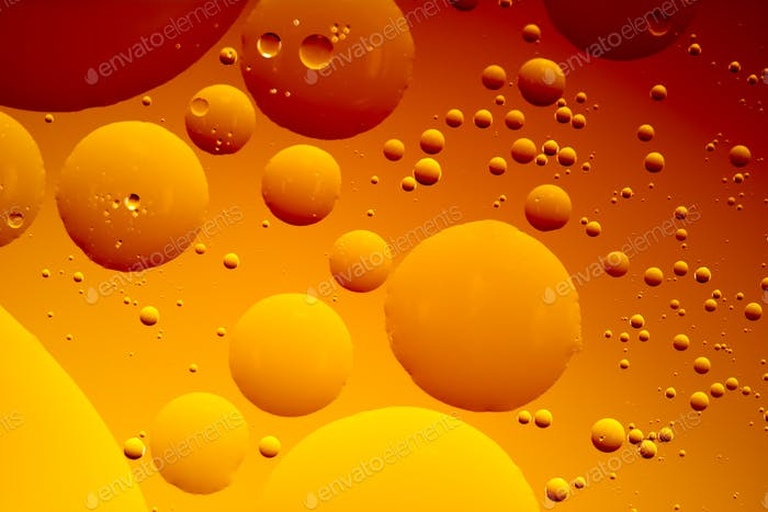 Abstract Oil Bubbles
