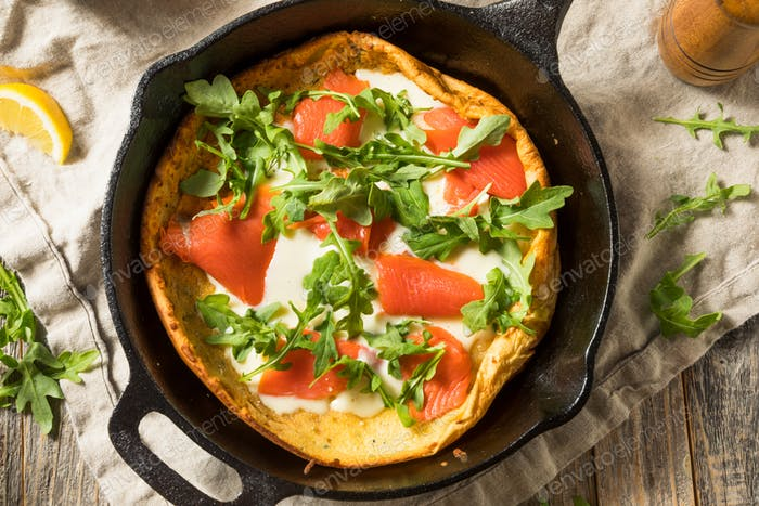 Homemade Savory Dutch BAby Pancake