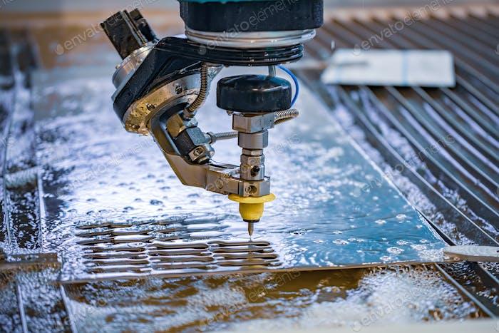 CNC Wasserstrahlschneidemaschine