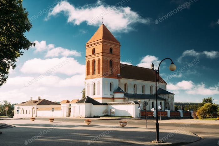 Mir, Belarus. Saint Nicolas Roman Catholic Church In Mir, Belaru