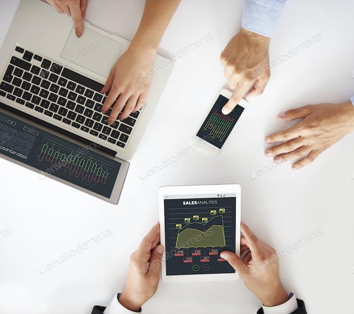 Mobile Geräte im Unternehmen mit