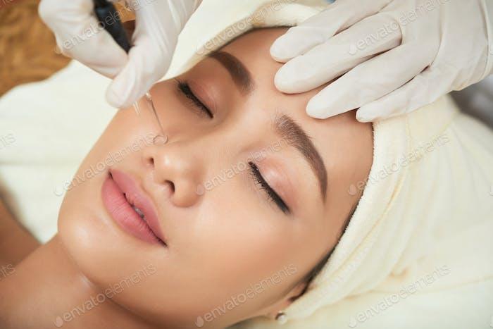 Deep cleansing procedure