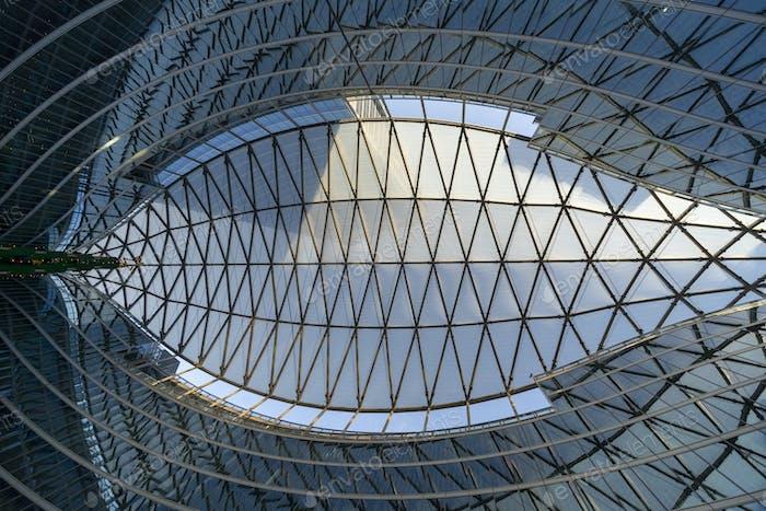 Milan, Italy: the modern Palazzo Lombardia