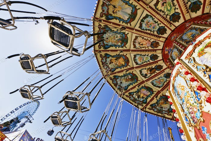 Swing Ride at the Fair