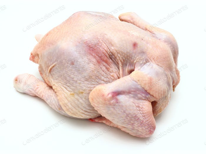 Carcass of the whole chicken
