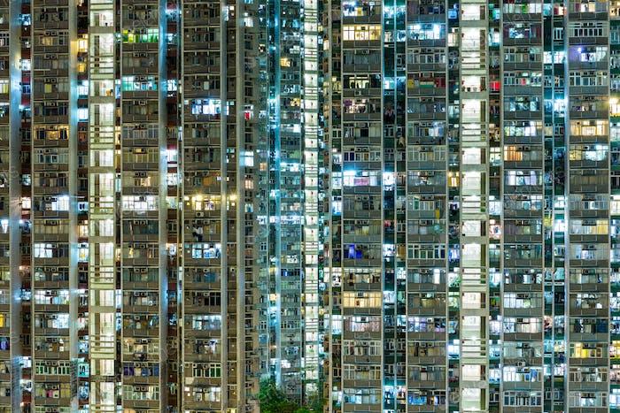 Kompaktes Leben in Hongkong