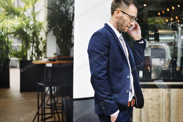 Telekommunikation Smart Phone Gesprächskonzept