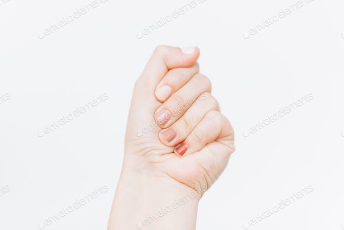 Home modern manicure