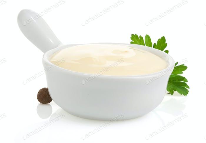 Mayonnaisesauce und Lebensmittelzutat