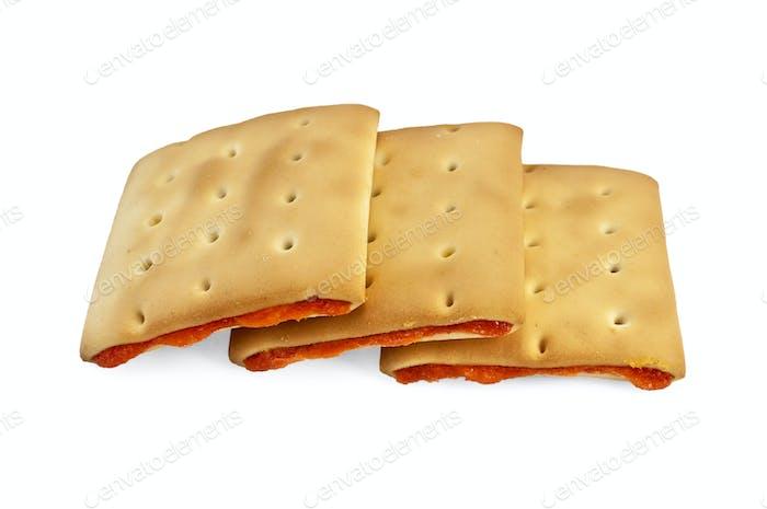 Cracker gefüllt mit ganzen
