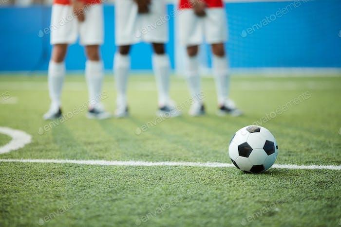 Ball on grass