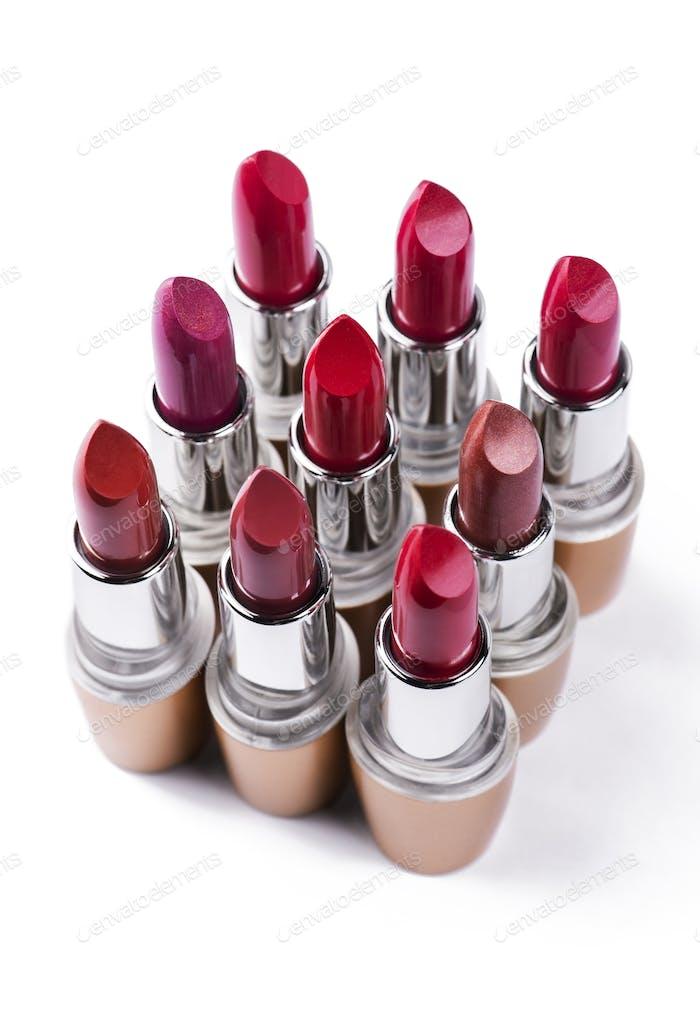 Variation color of lipstick