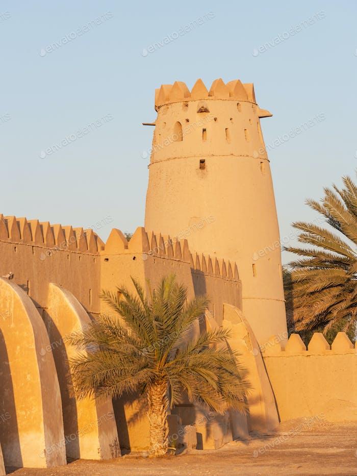 A Tower in Al Jahli Fort in Al Ain