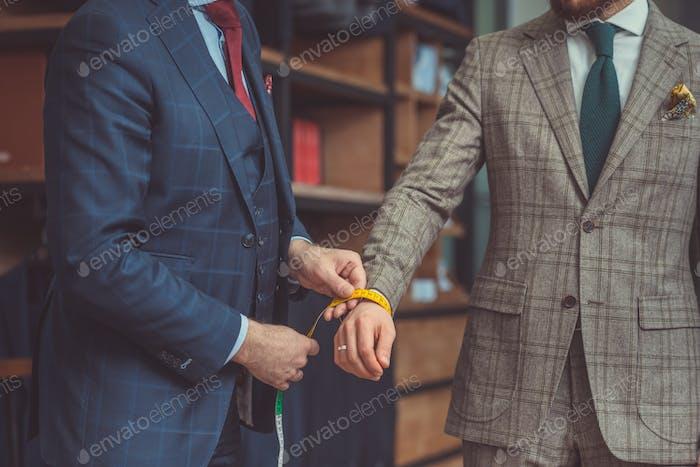 Empresario en un traje