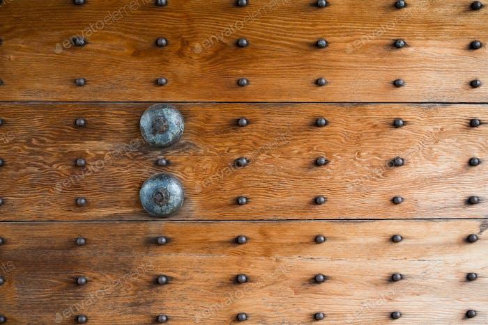 Traditional japanese door