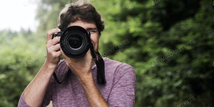 Fotograf fotografiert bei Ihnen
