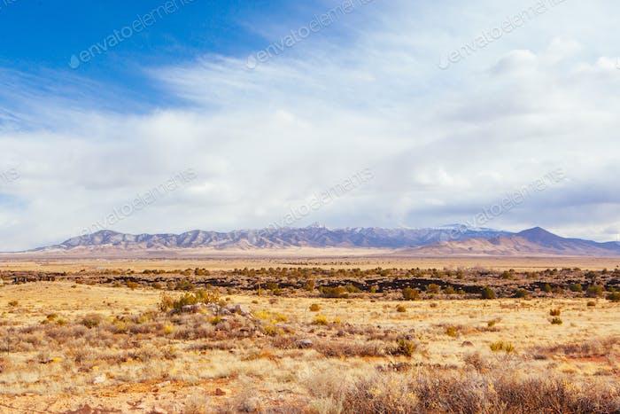 New Mexico Landscape in USA