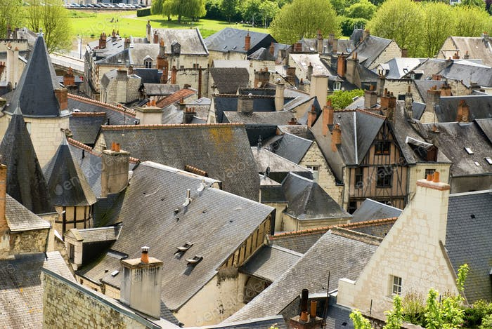 Roofs of Chinon