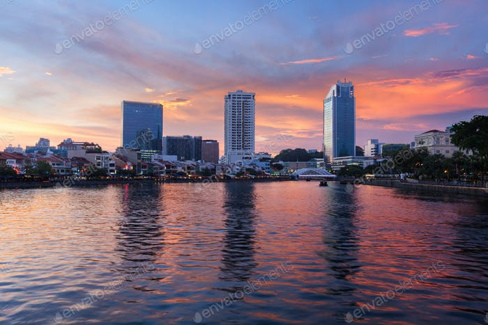 Voyage fond Singapour