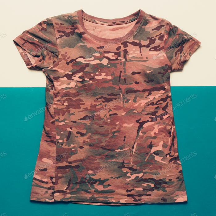Shirt military style minimalist fashion