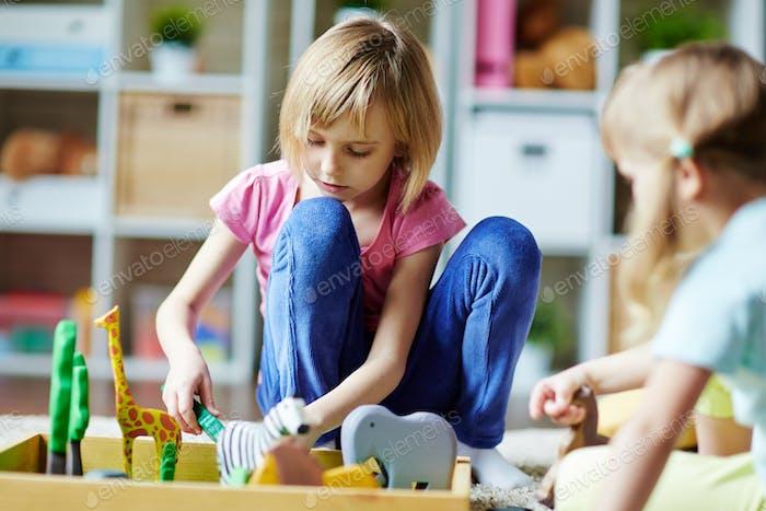 Play in kindergarten