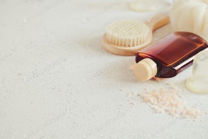 Spa beauty concept. Anti-cellulite massage