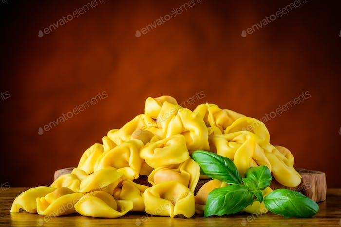 Yellow Tortellini Pasta