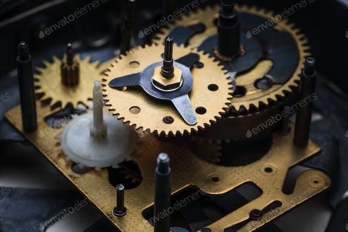 The macro view of clock mechanism