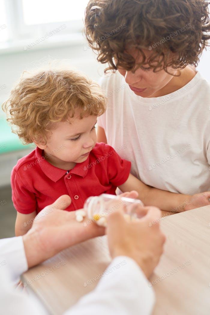 Vitamin Prescription for Little Boy