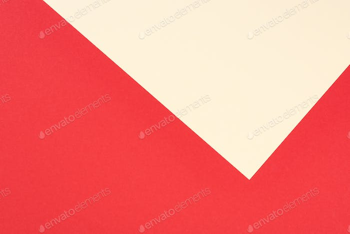 minimalistic modern red and yellow abstract background with copy space