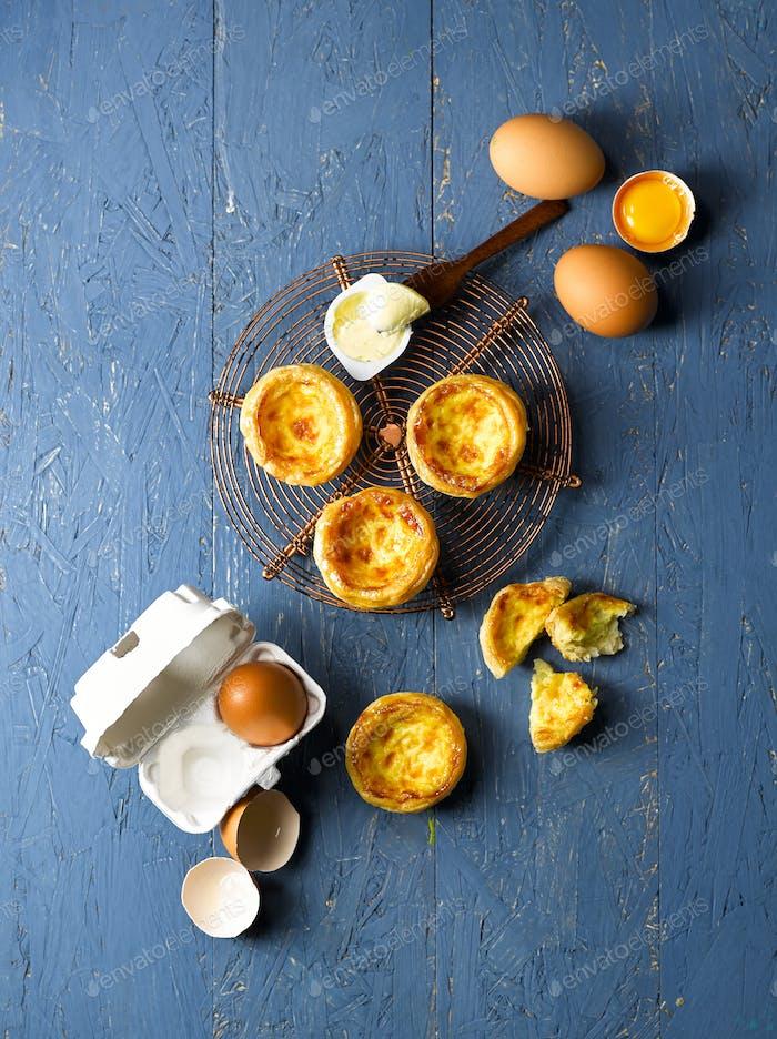 Egg Tart Top View