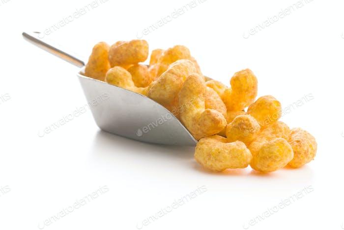 Crispy Peanut Puffs